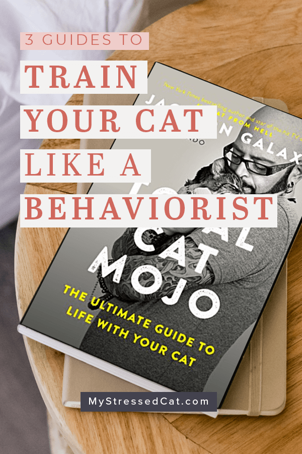 Total Cat Mojo Cat is the ultimate guide to training your cat. Take a peek at what you'll find inside, plus check out my other 2 favorite cat behavior guides.